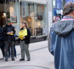 Impressionen vom 13.10.2017 in Essen vor H&M. Foto: Akuwill
