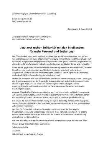 Soli-Schreiben_UKE und UKD_Akuwill_01.08.2018